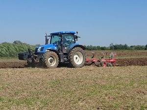 New holland t6050 plus, Unia Ibis long 3+1