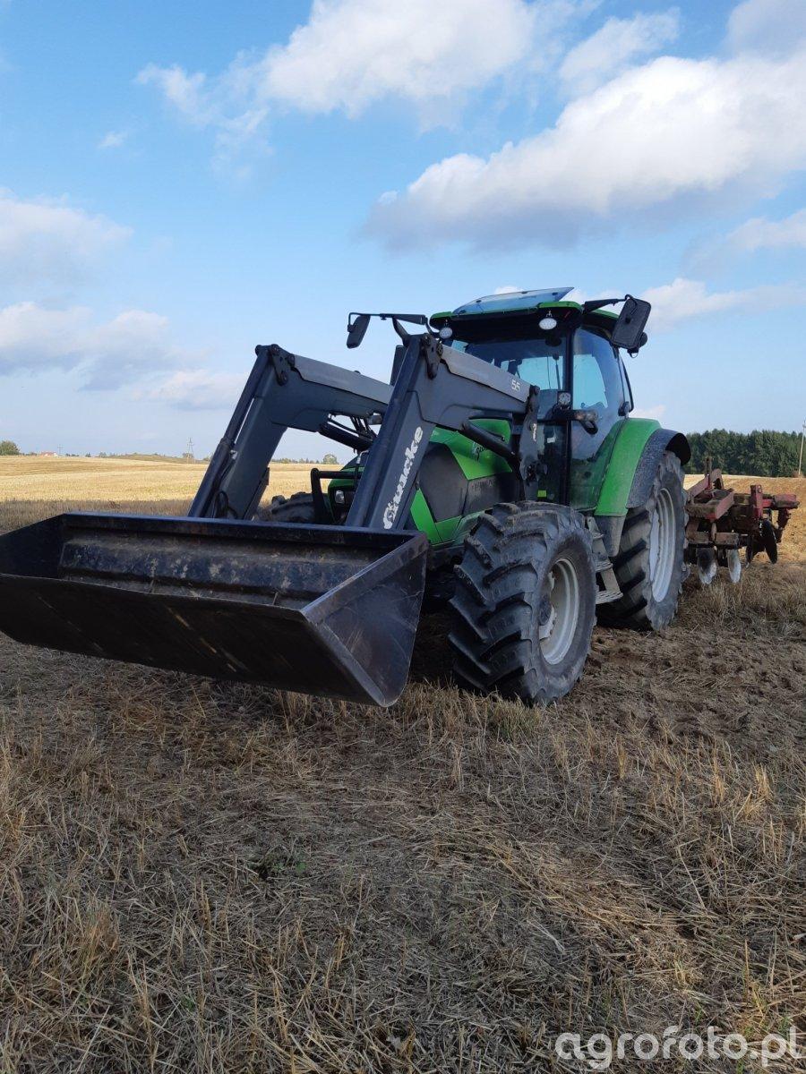 Deutz Fahr Agrotron &  Pöttinger