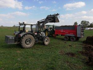 Farmtrac 690 DT + John deere 6120m + Unia Tytan 10TD Premium