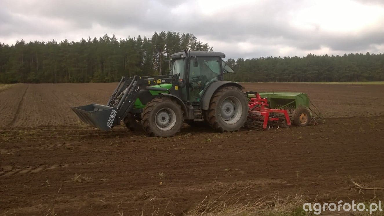 DF Agrofarm 420 & Euromasz & Amazone D7 Super S