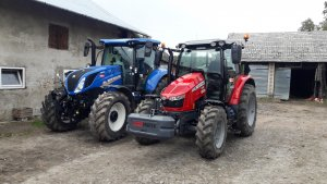 New Holland & Massey Ferguson