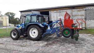 New Holland T5050 & zestaw uprawowo siewny