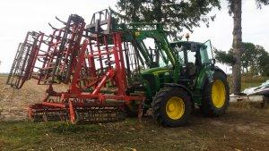 John Deere 6230 & Agro-Masz AU42