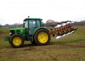 John Deere 6220 + Agrolux