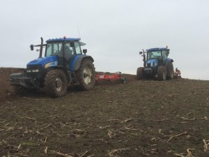 New Holland tm 175 kverneland ab 100 , New Holland T6050 unia tur