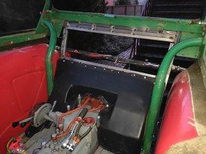 Ursus C-360 zabudowa kabiny