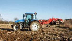 New Holland TD5050 & Unia kos BT 2.1m