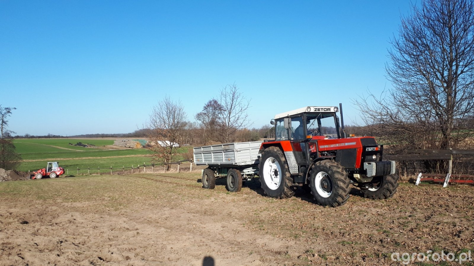Zetor 8245 + Autosan