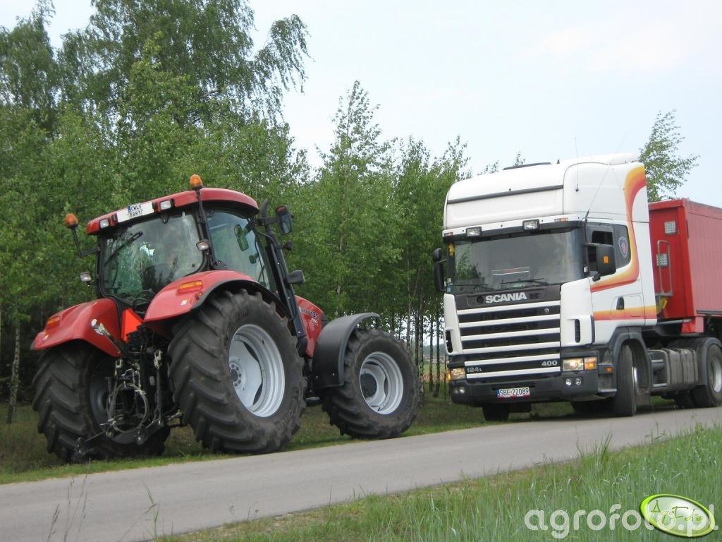 Case MXU 135 Pro i Scania