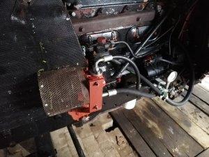 Zetor 8011 zewnetrzna pompa zamiast mikropompki.