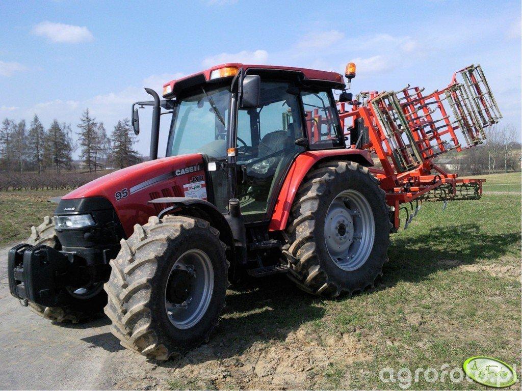 Case JXU 95 + Agro-Masz 3.60m