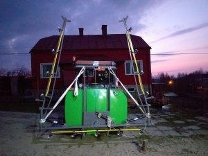 Opryskiwacz  Tecnoma 600 l składany hydraulicznie