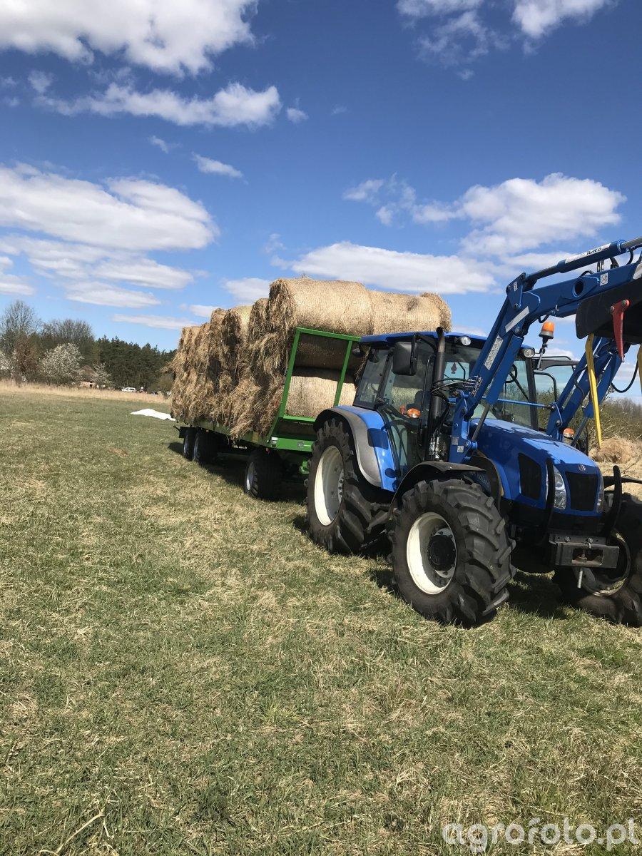 New Holland T5060, Pronar T026