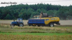 New Holland CX8070 & Pronar 1221A
