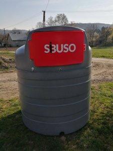Zbiornik dwupłaszczowy Sibuso