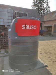 Zbiornik na paliwo Sibuso