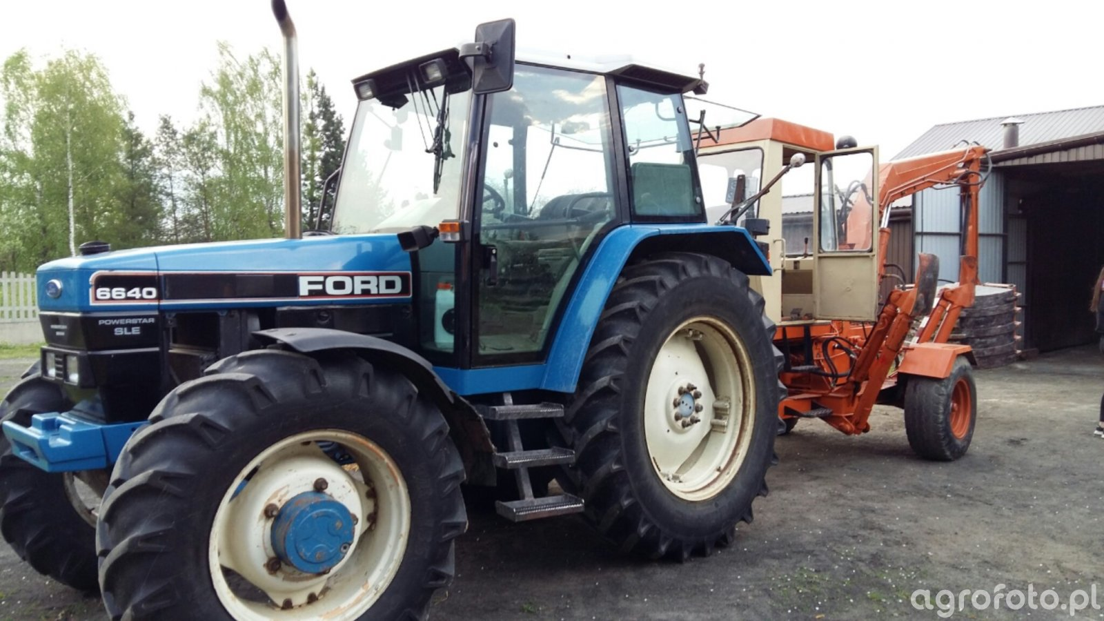 Ford 6640 & UNHZ 750
