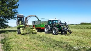 Deutz Fahr Agrofarm 85 i Fortschritt E281
