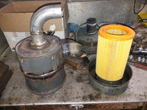 Filtr powietrza-przeróbka