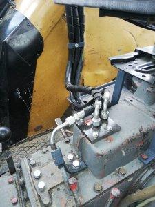 Hydraulika podłączenie. Łącznik centralny