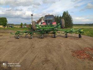 Krone KWT 782 + Belarus 952