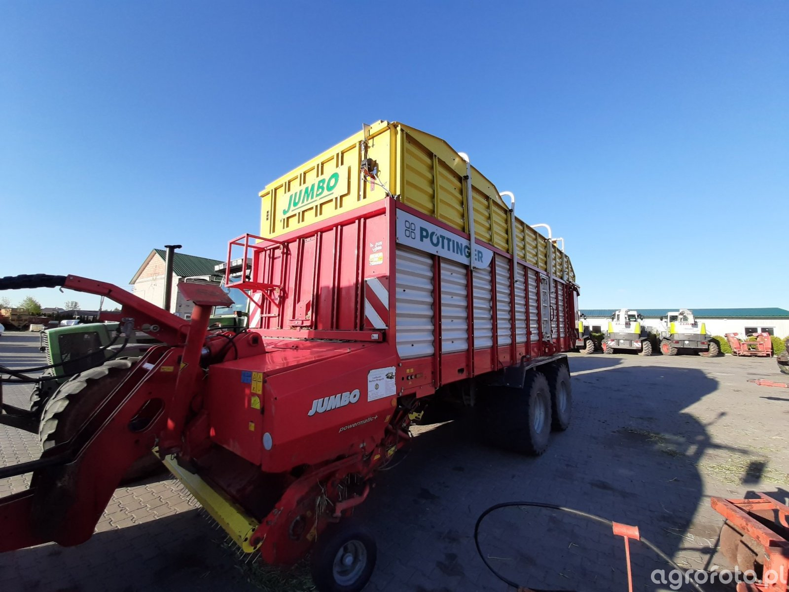 Pottinger Jumbo 6610 D