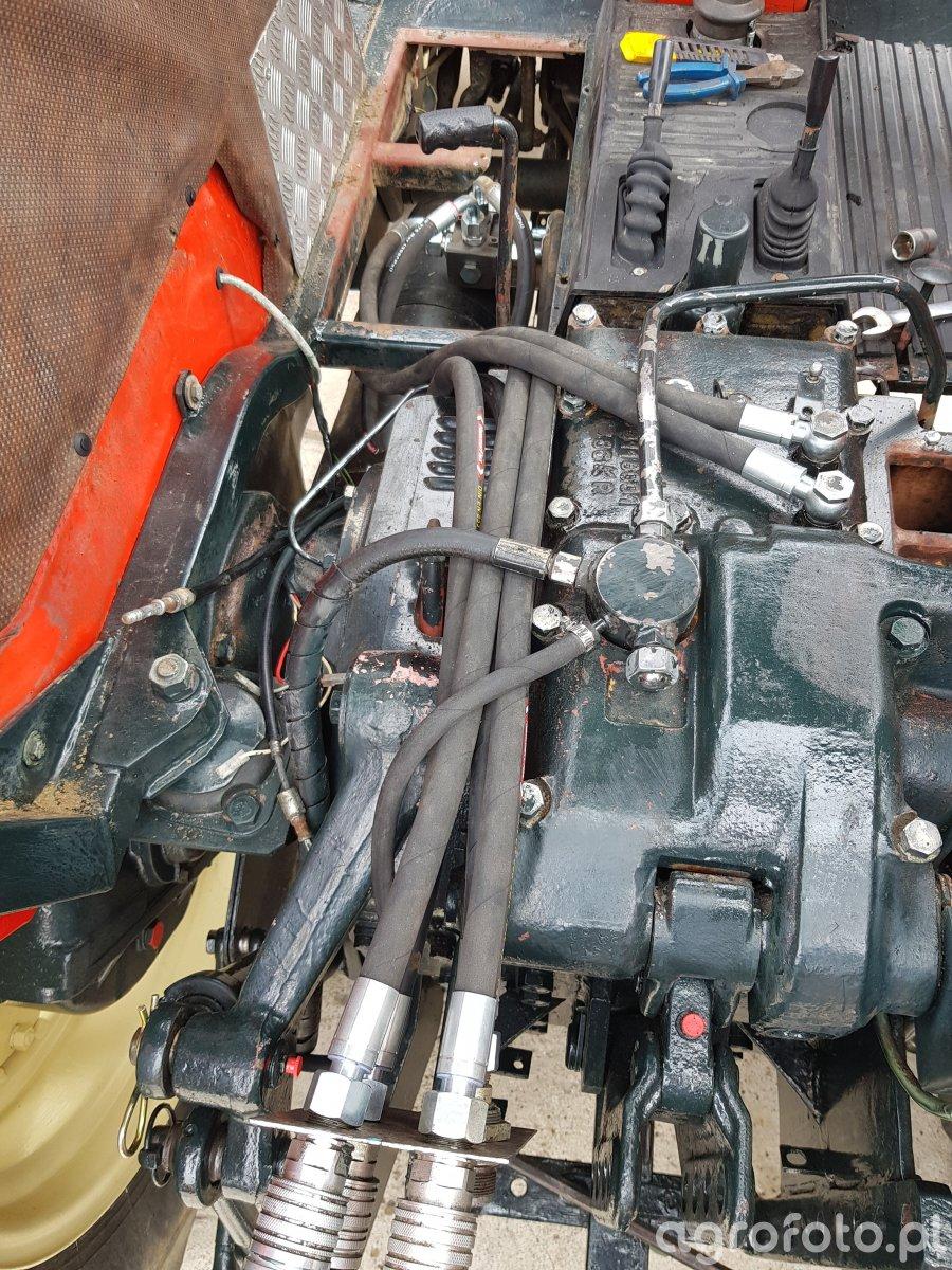 Rozbudowa hydrauliki zetor 7245