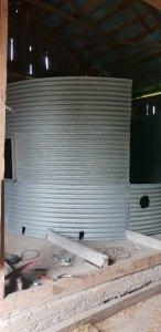 silos zbozow 4.2m x 4m