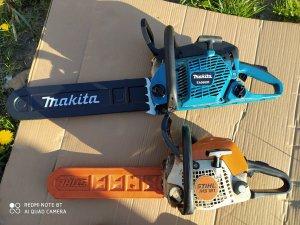 Stihl ms181 i Makita ea5600f