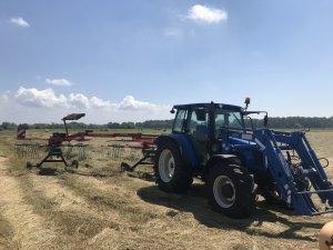 New Holland T5060 + Kverneland 9471S Evo