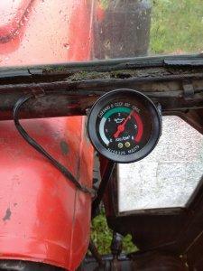 ciśnienie oleju c-330