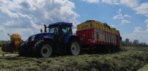 New Holland T7550 + Pottinger Jumbo 6610D
