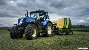 New Holland T7.210 & Krone Fortima F 1250 MC