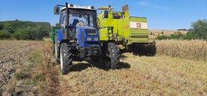 Farmtrac 675 DT Claas Mercator 60