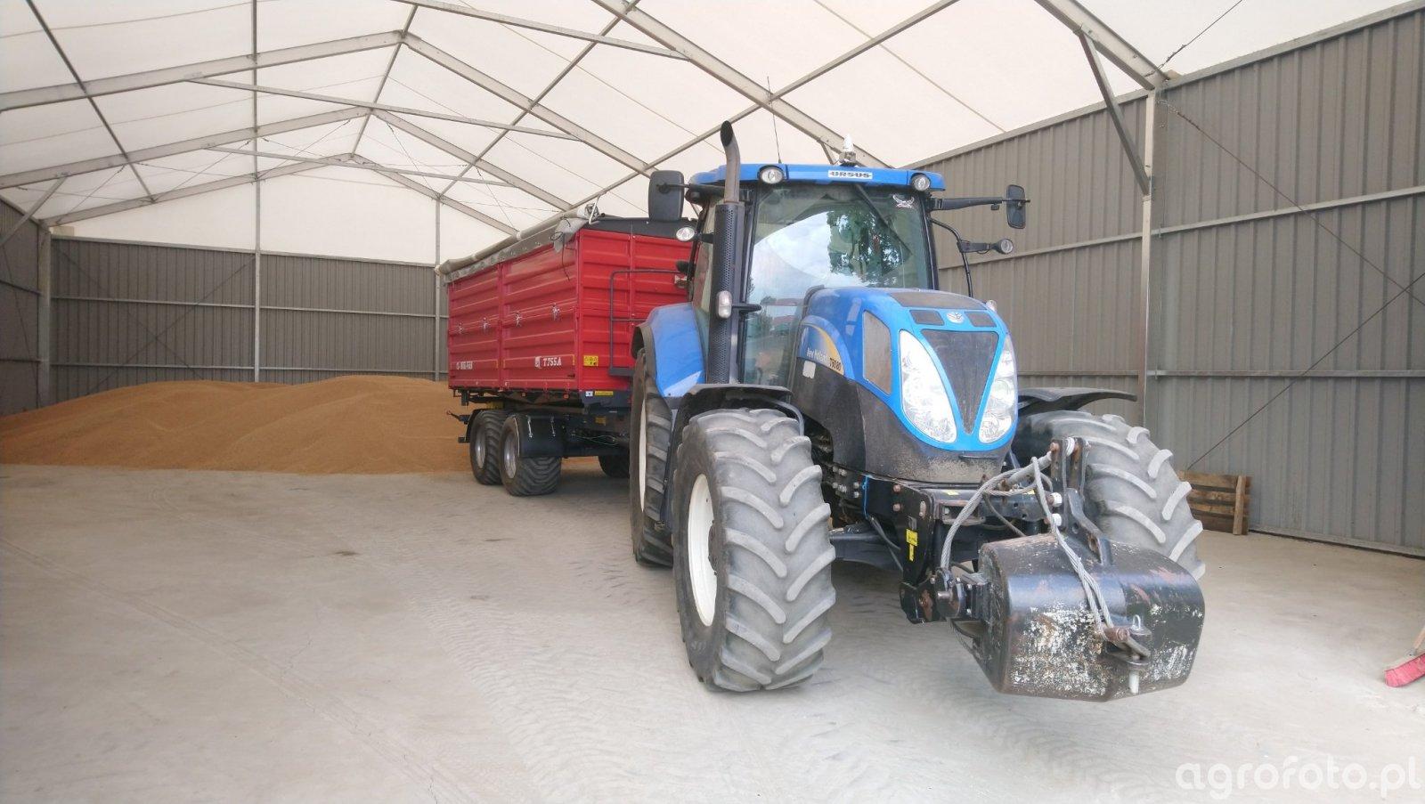 New holland T6080+ Metal Fach