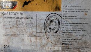 Olej Przekładniowy CAT TDTO 30
