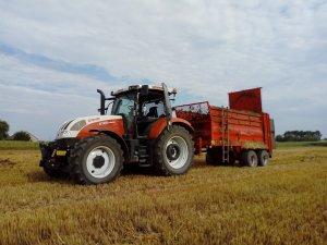Steyr 6125 Profi & Unia Tytan Premium 10DT