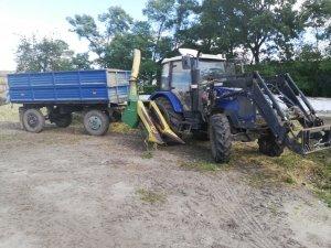 Farmtrac 675DT i John deere fh25