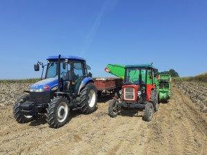 New holland Td70d & Ursus c330M