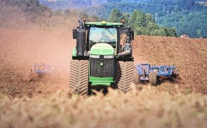 John Deere 9620RX + Kockerling Vector 800