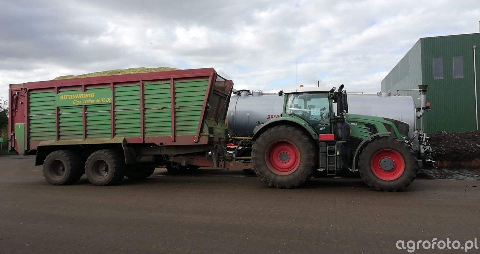 Fendt 930 + Strautmann Giga trailer 4602