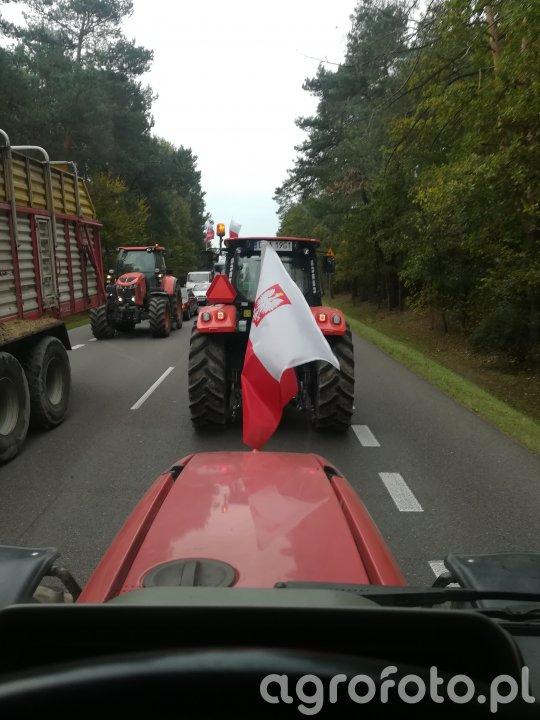 Protest DK19 Radzyń Podlaski