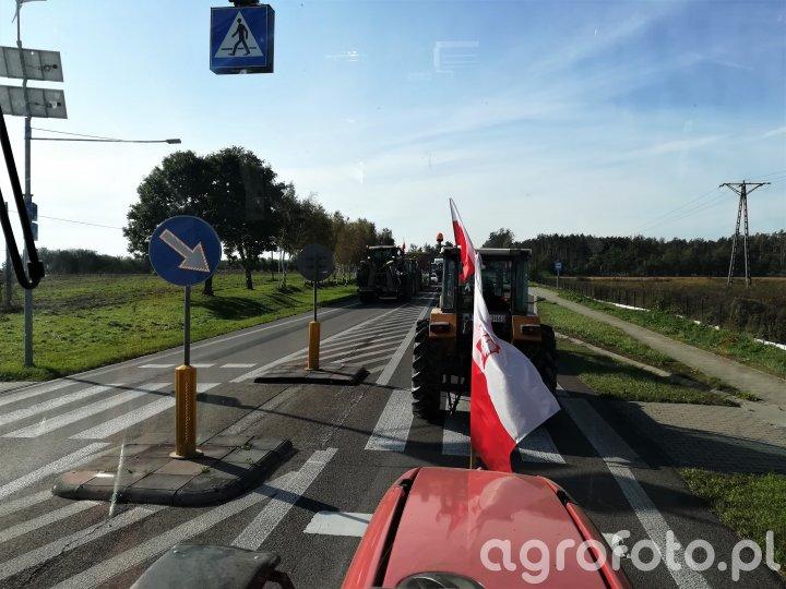 Protest w Radzyniu Podlaskim - DK19