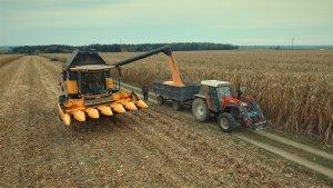 New Holland CX 5.90 & Zetor 8145