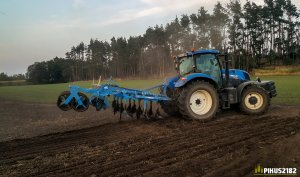 New Holland T7.210 & Lemken Karat 9