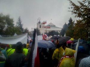 Protest Warszawa 13.10
