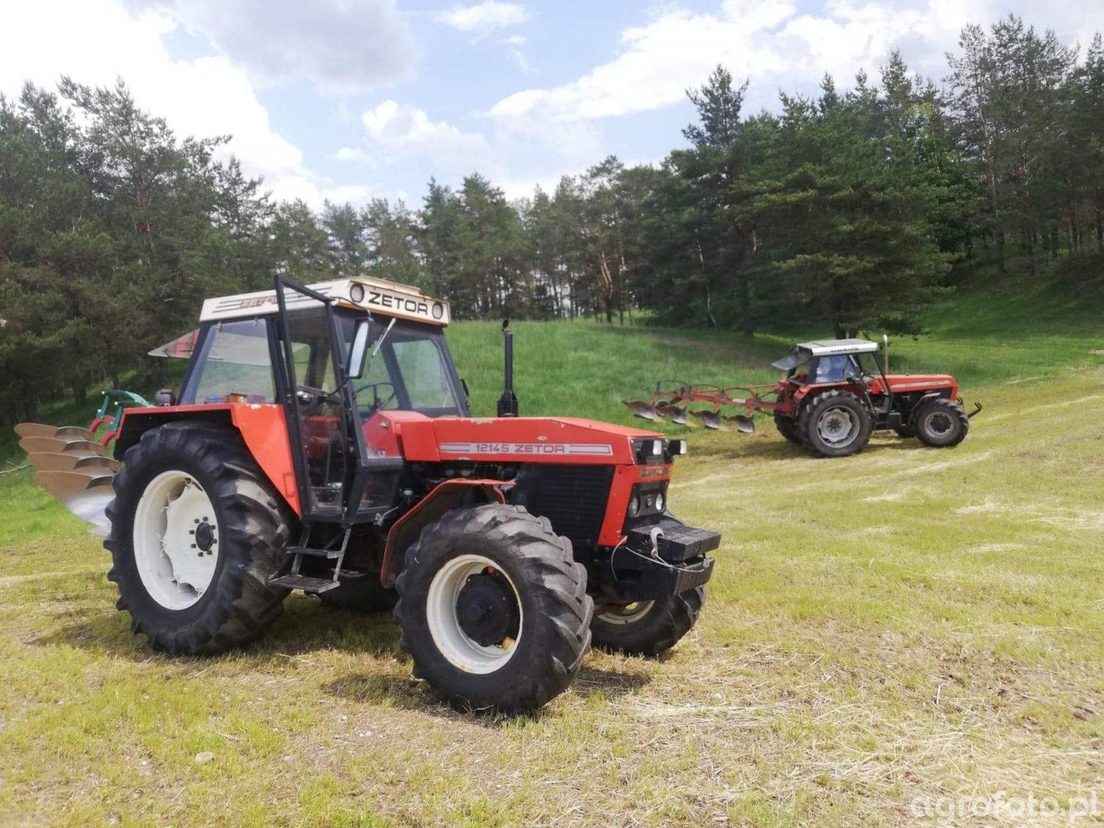 Zetor 12145 + AB100 & U1614 + Kverneland