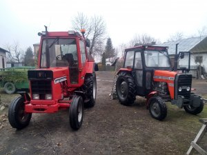 Case International 745xl & Massey Ferguson 235
