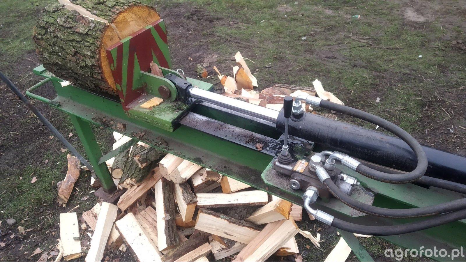 Łuparka do drewna - hydrauliczna