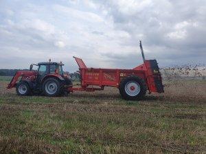 Massey Ferguson 5712S i DAF Agro 12